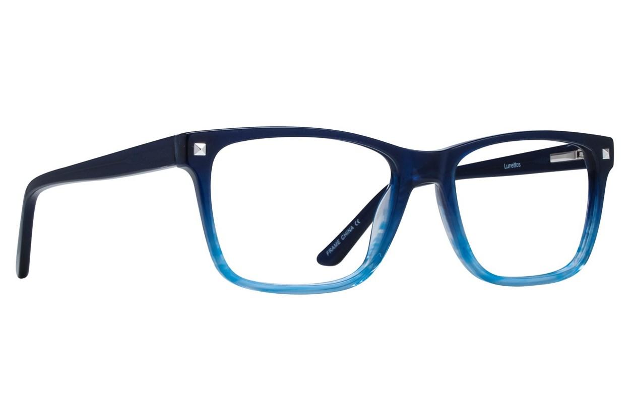Lunettos Harper Black Glasses