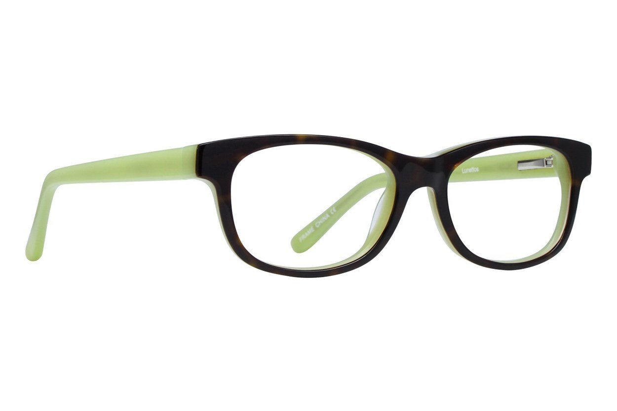 Lunettos Kody Green Glasses