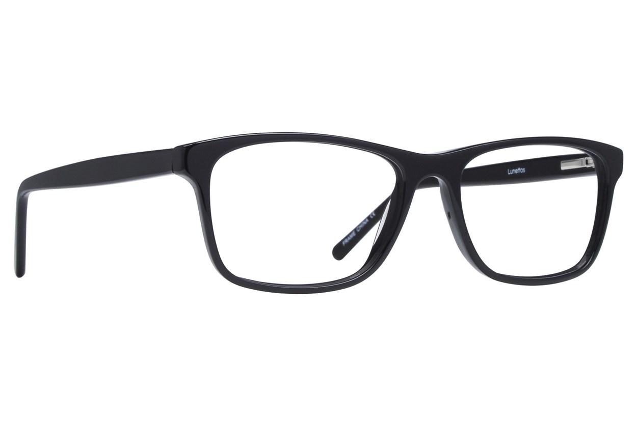 Lunettos Kyle Black Glasses