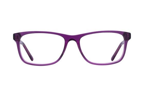 Lunettos Kyle Purple Glasses