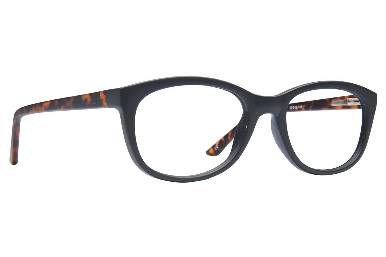 Lunettos Diane Black Glasses