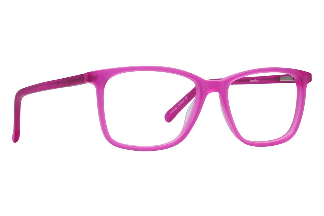 Lunettos Lee Pink Glasses