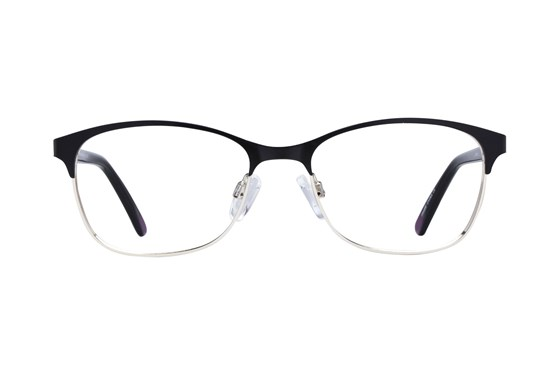 Lunettos Riley Black Glasses