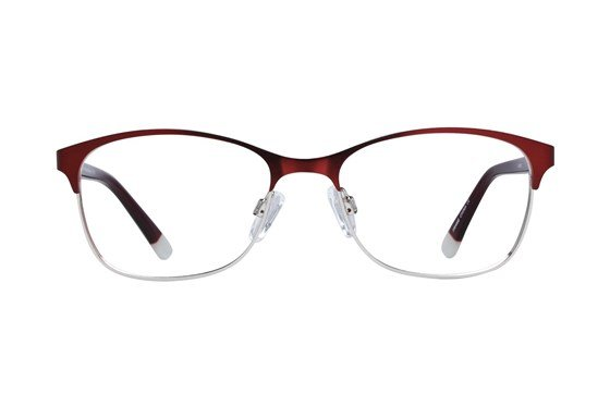 Lunettos Riley Red Glasses