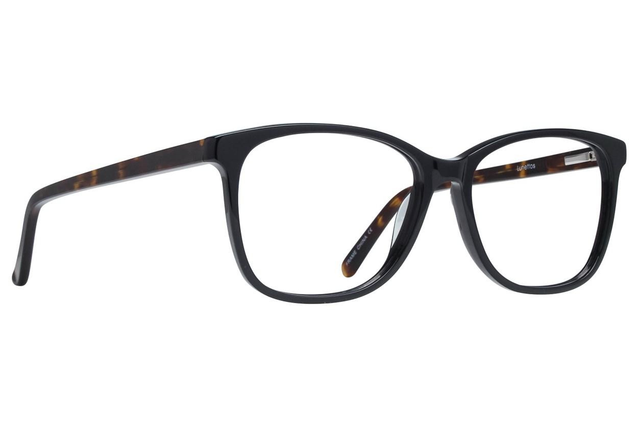 Lunettos Skyler Black Glasses
