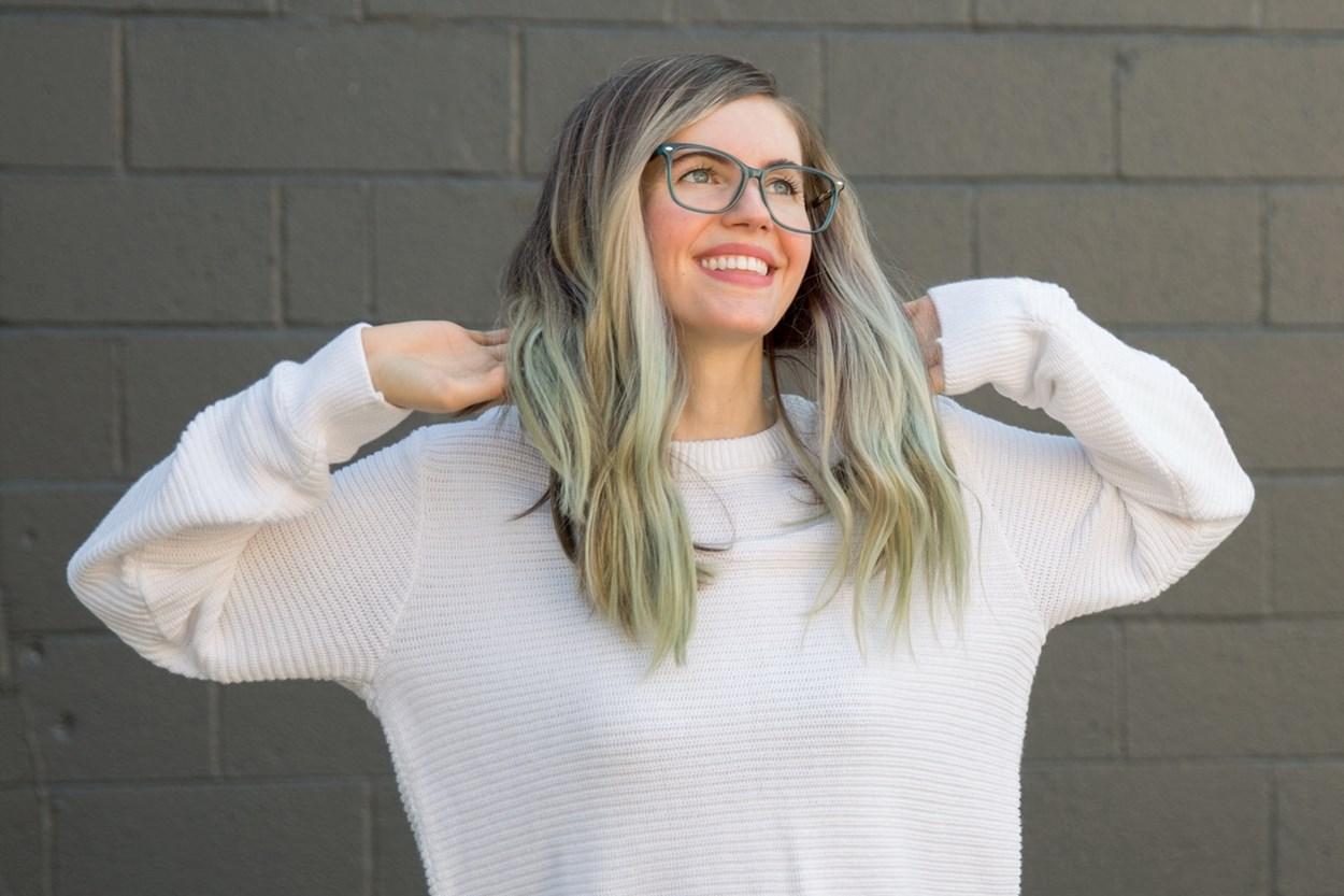 Alternate Image 1 - Lunettos Skyler Blue Glasses