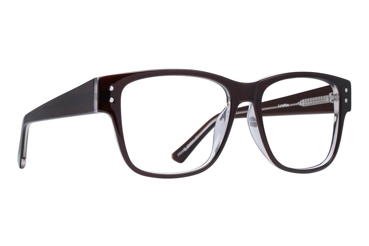 Lunettos Tyler Brown Glasses