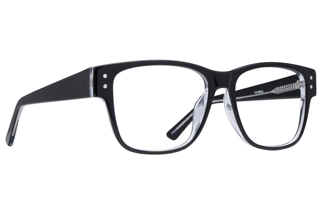 Lunettos Tyler Black Glasses