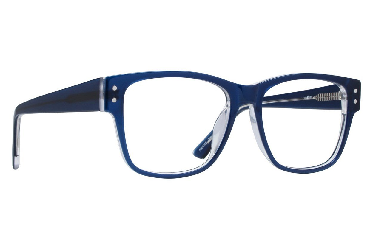 Lunettos Tyler Blue Glasses