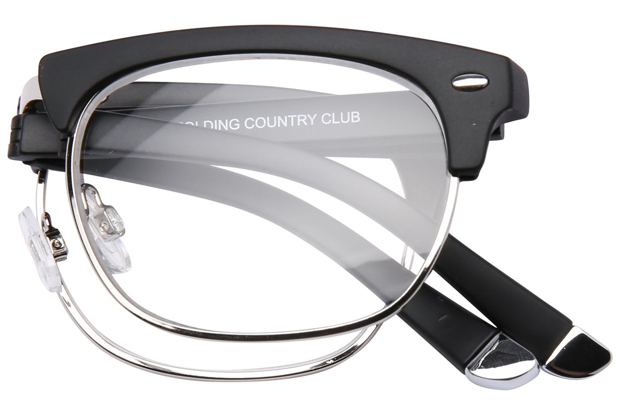 Alternate Image 1 - Eyefolds The Country Club Reader Black ReadingGlasses