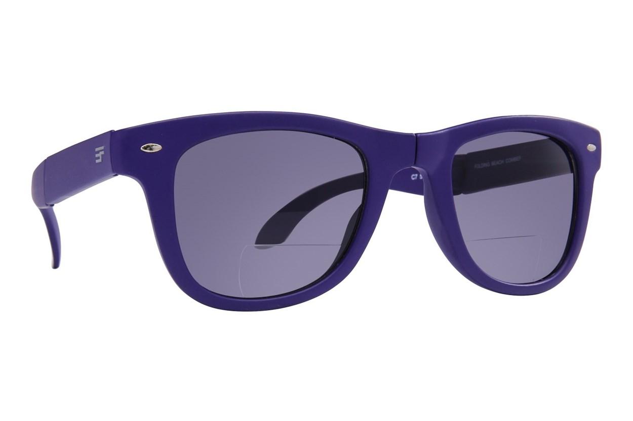 Eyefolds The Beachcomber Reading Sunglasses Blue