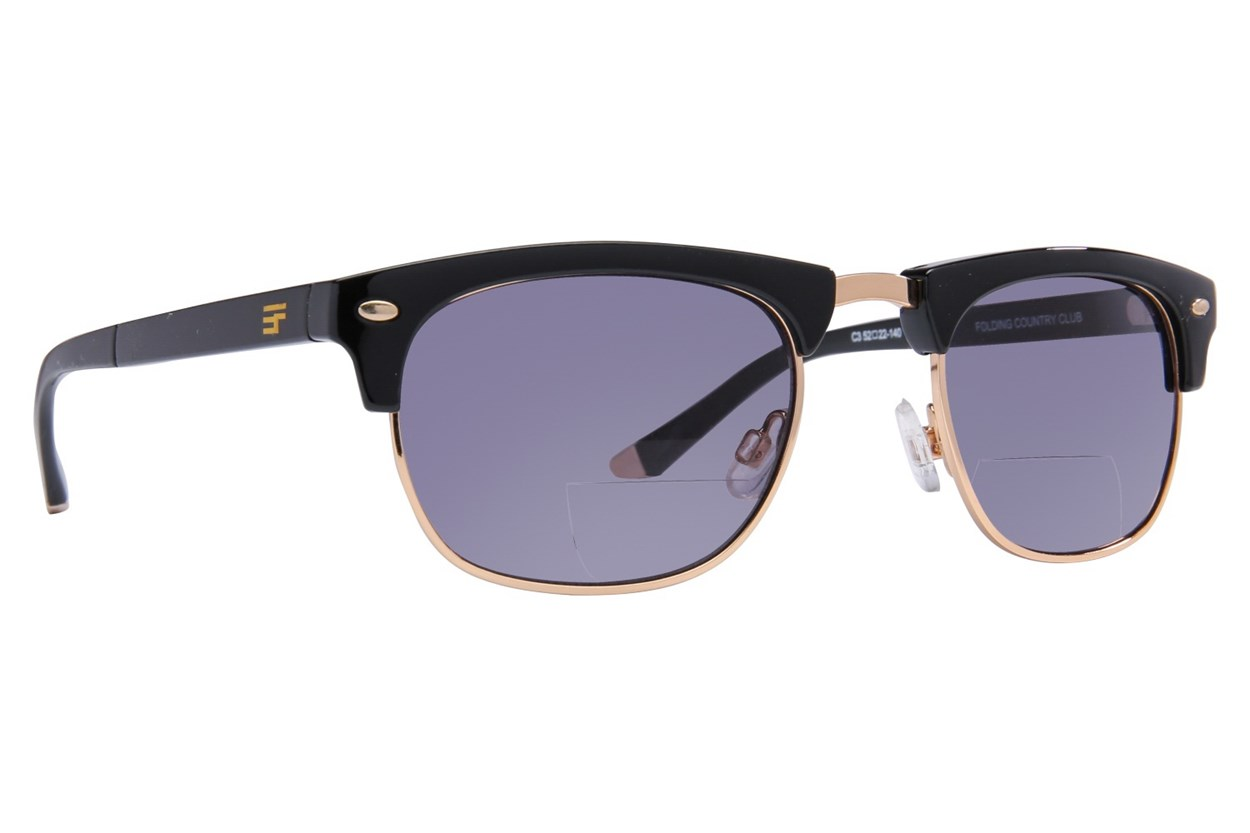Eyefolds The Country Club Sun Reader Black ReadingGlasses