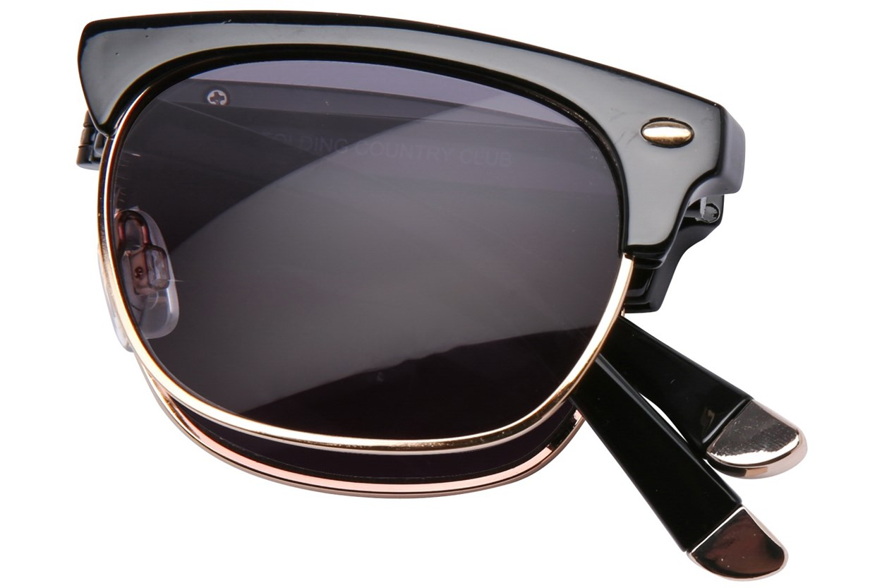 Alternate Image 1 - Eyefolds The Country Club Sun Reader Black ReadingGlasses