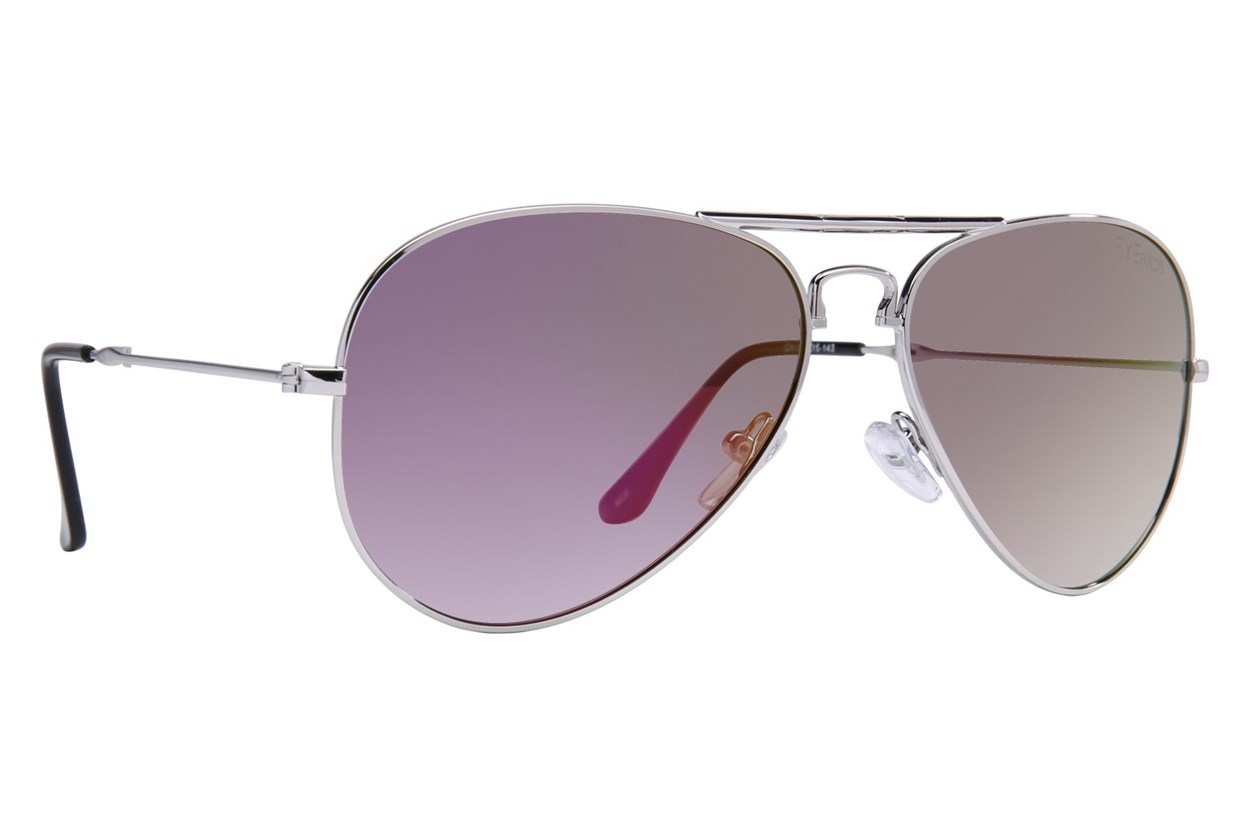 Eyefolds The Ace Silver Sunglasses