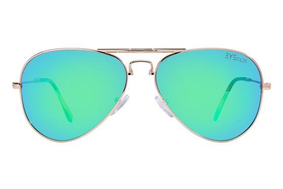 Eyefolds The Ace Gold Sunglasses
