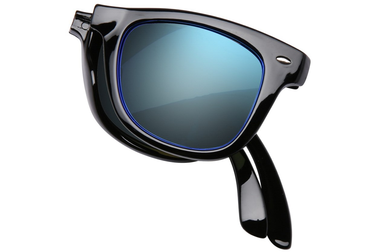 Alternate Image 1 - Eyefolds The Beachcomber Black Sunglasses