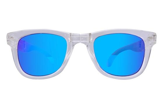Eyefolds The Beachcomber Clear Sunglasses
