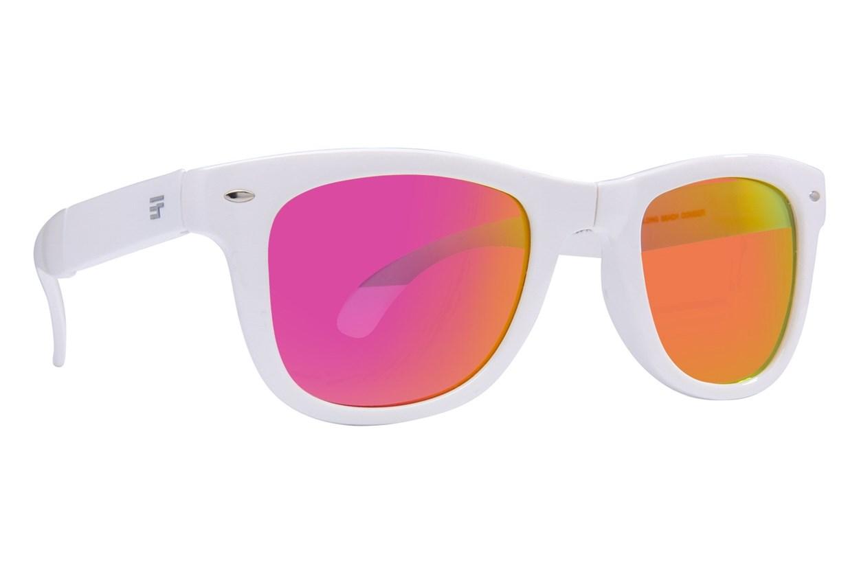 Eyefolds The Beachcomber White Sunglasses