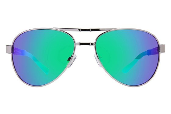 Eyefolds The Pilot Silver Sunglasses