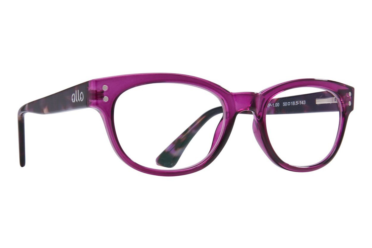 allo Hello Reading Glasses Purple ReadingGlasses