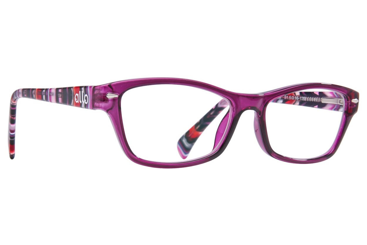 allo Hola Reading Glasses Purple ReadingGlasses