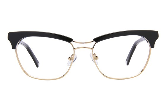 Kendall + Kylie Piper Black Glasses