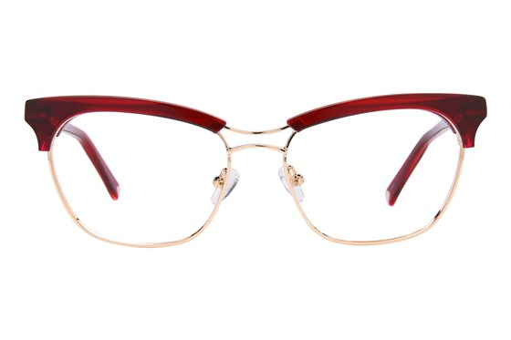 Kendall + Kylie Piper Red Glasses