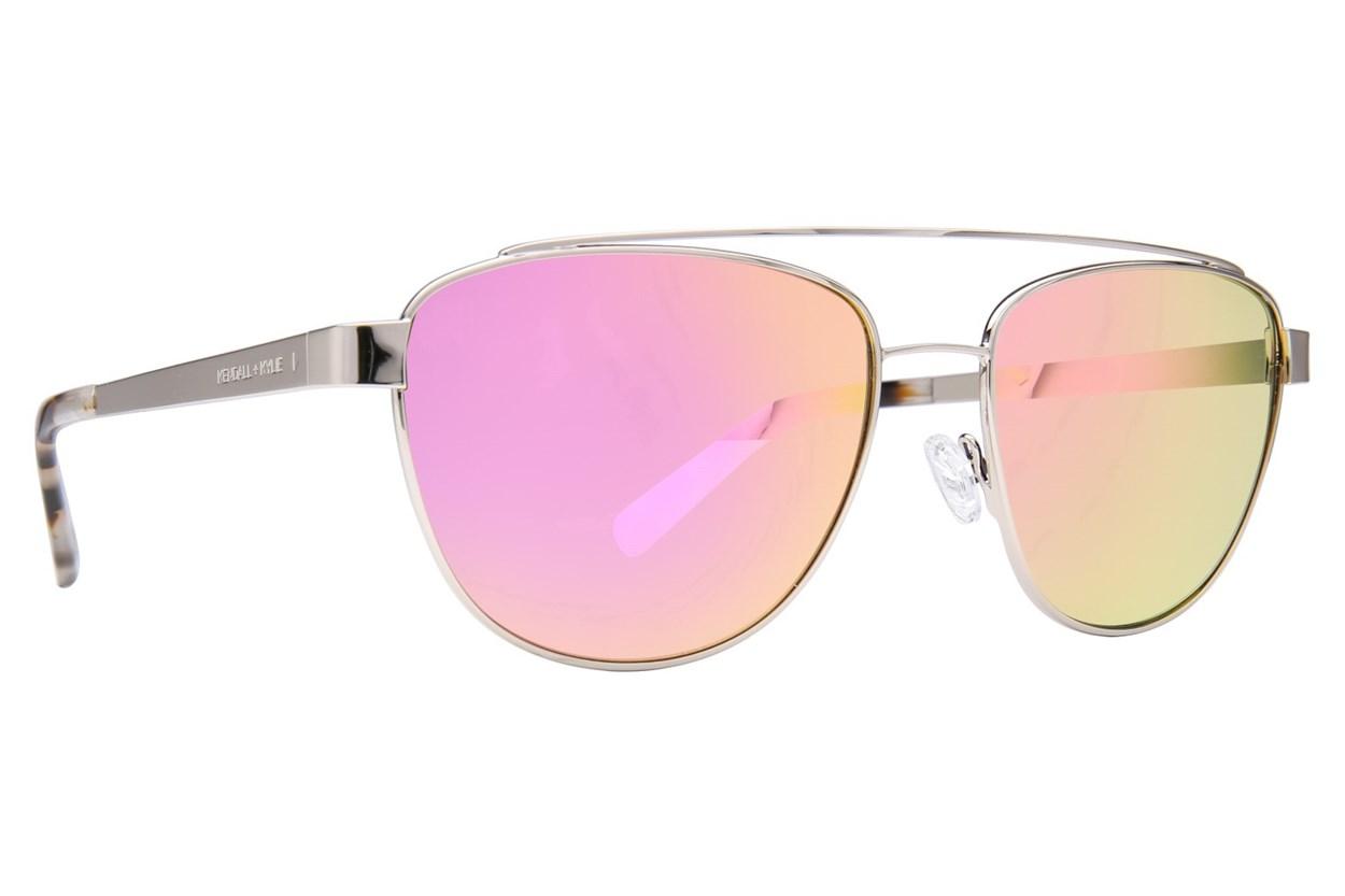 Kendall + Kylie Lexi Silver Sunglasses