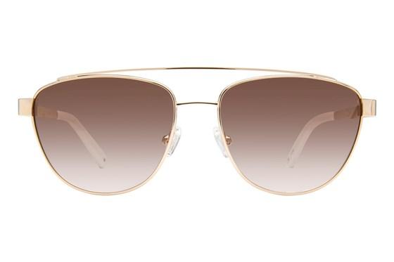 Kendall + Kylie Lexi Gold Sunglasses
