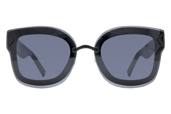 Kendall + Kylie Priscilla Black Sunglasses
