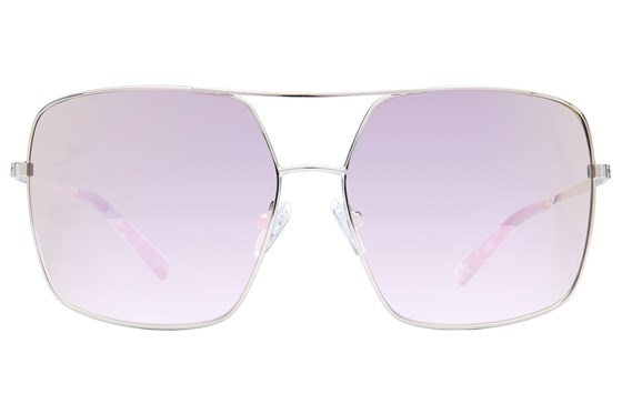 Kendall + Kylie Sophie Silver Sunglasses