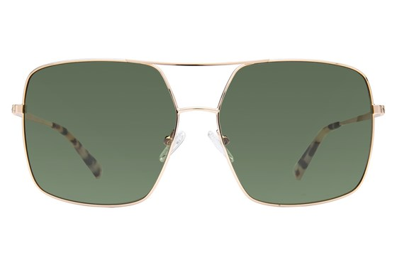 Kendall + Kylie Sophie Gold Sunglasses