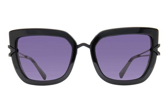 Kendall + Kylie Bianca Black Sunglasses