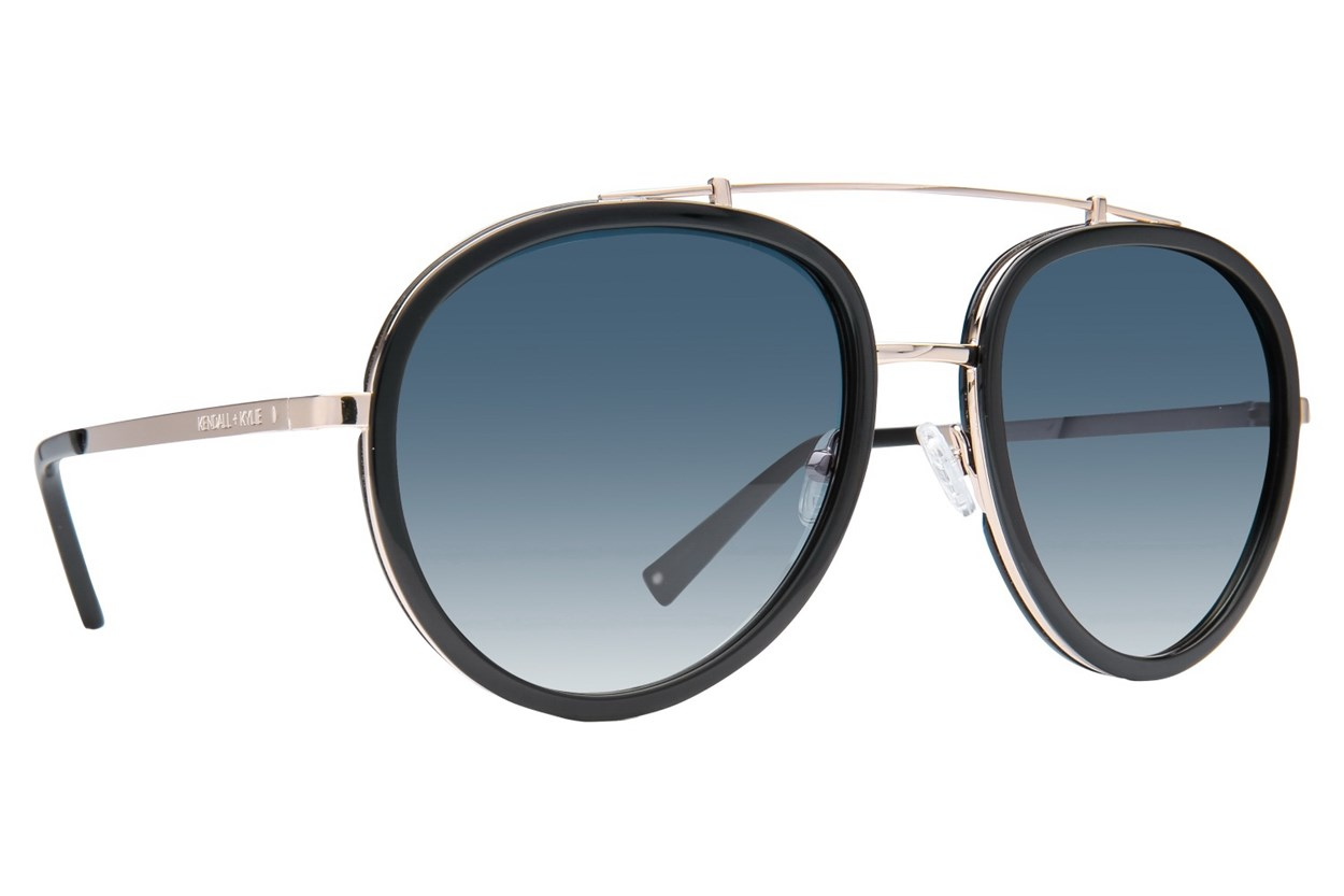 Kendall + Kylie Jules Black Sunglasses
