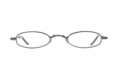 I Heart Eyewear Tube Reading Glasses Gray