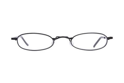 I Heart Eyewear Tube Reading Glasses Black