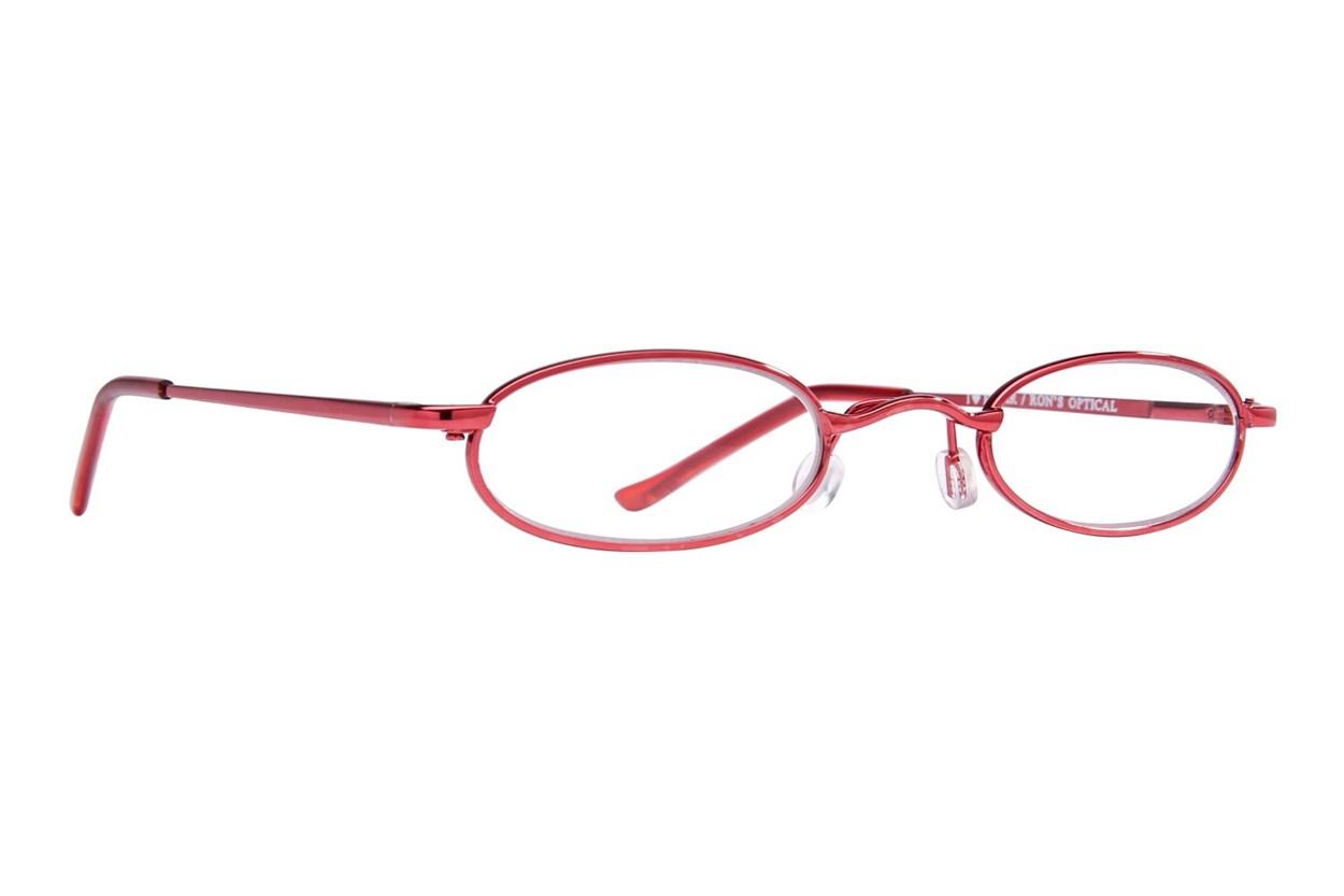 I Heart Eyewear Tube Reading Glasses Red
