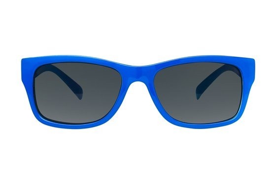 I Heart Eyewear Ace Blue Sunglasses