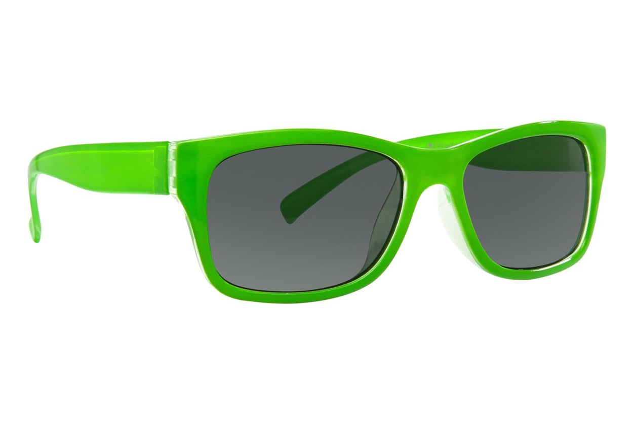I Heart Eyewear Cricket Green Sunglasses