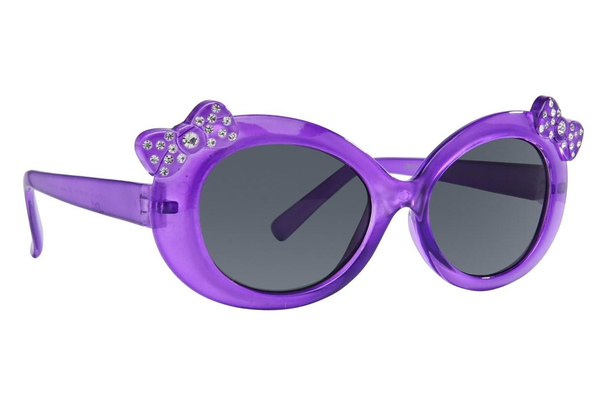 I Heart Eyewear Jasmine Purple Sunglasses