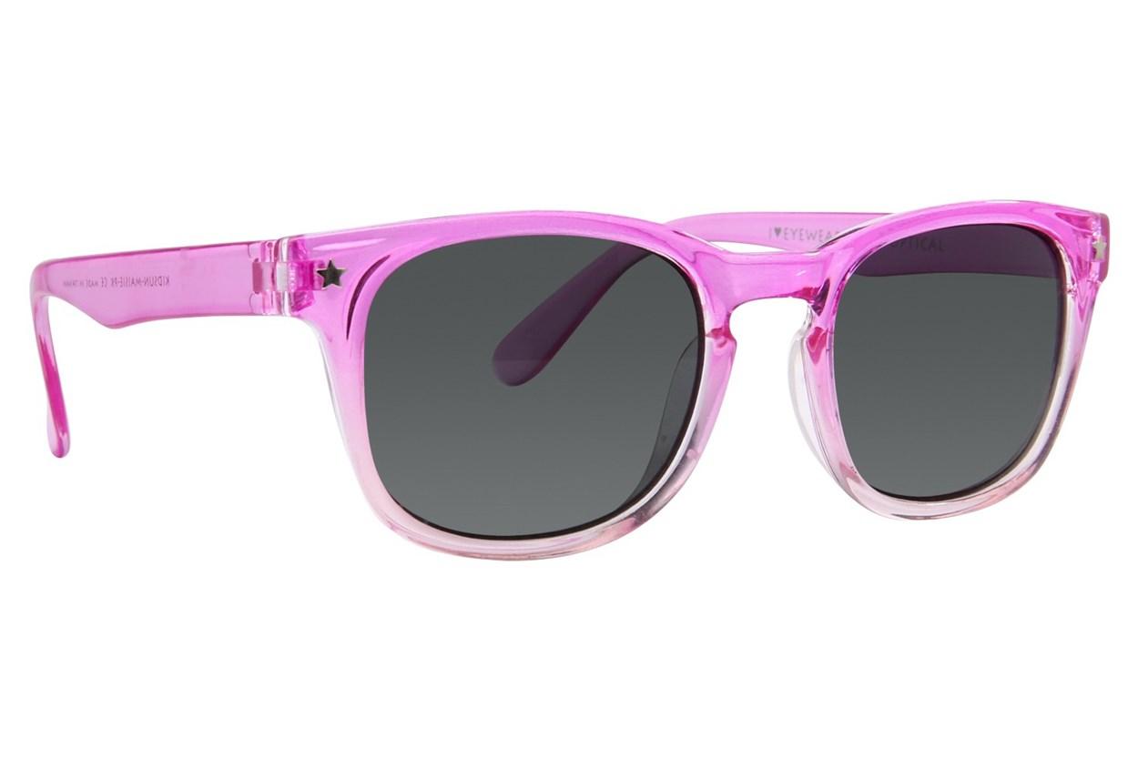 I Heart Eyewear Maisie Pink Sunglasses