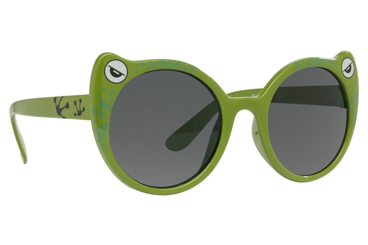 I Heart Eyewear Toady Green Sunglasses