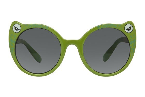 I Heart Eyewear Toady Green Sunglasses