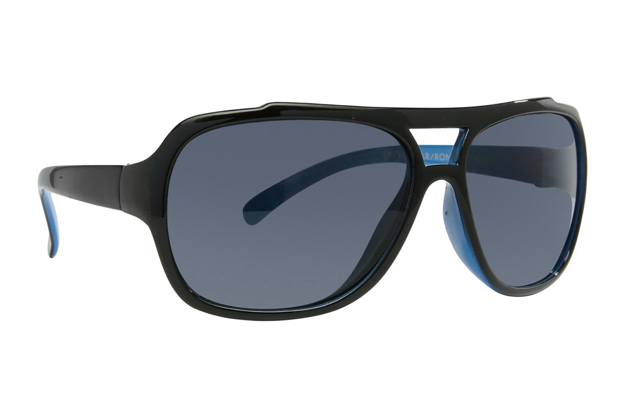 I Heart Eyewear Haiden Black Sunglasses