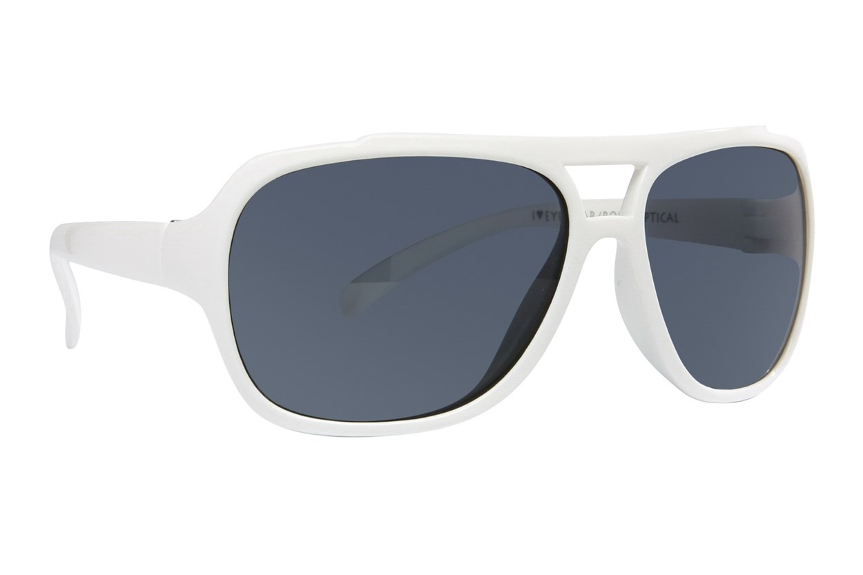 I Heart Eyewear Micah White Sunglasses