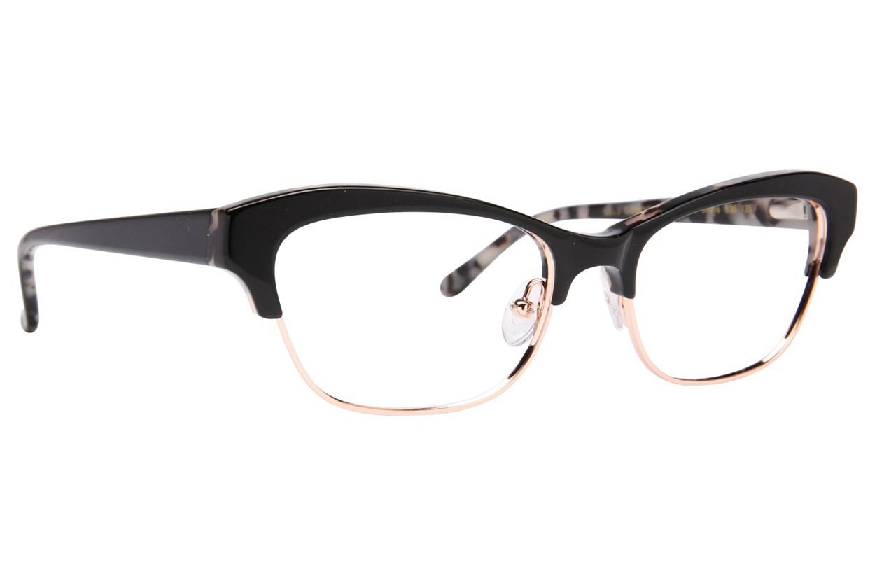Lulu Guinness L776 Black Glasses
