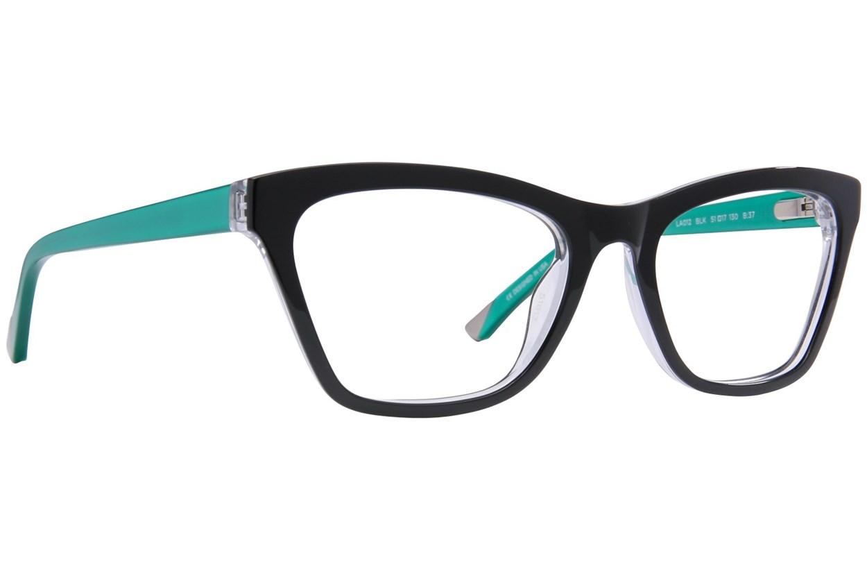 L.A.M.B. By Gwen Stefani LA012 Black Glasses
