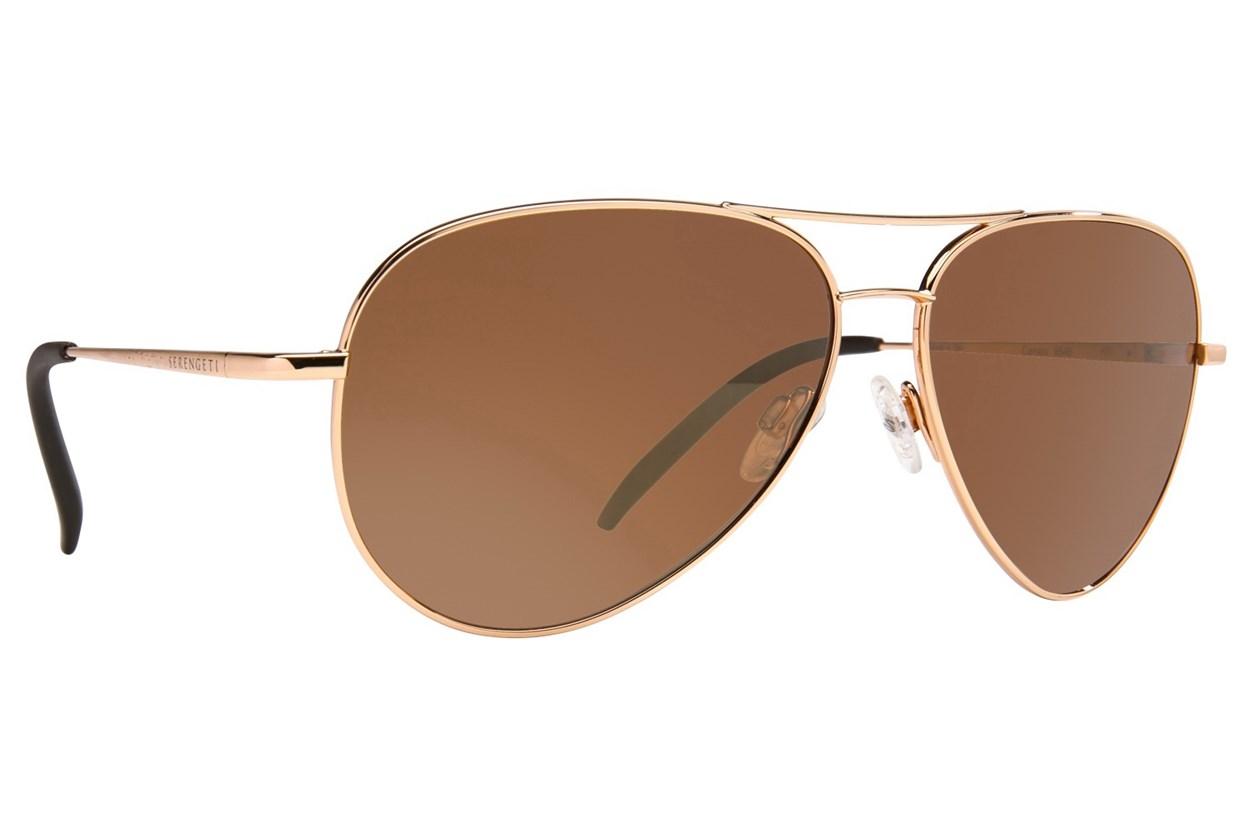 Serengeti Carrara Gold Sunglasses
