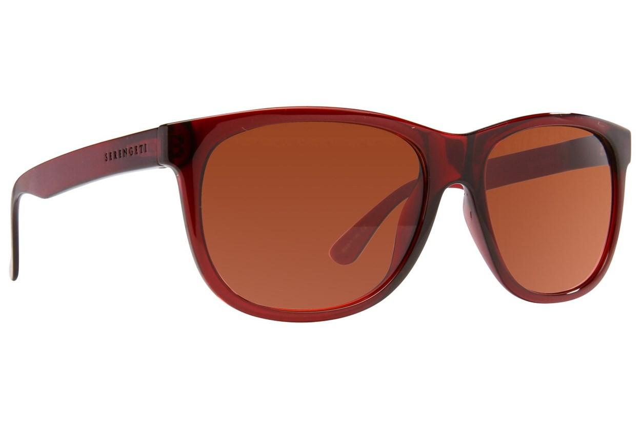 Serengeti Ostuni Red Sunglasses