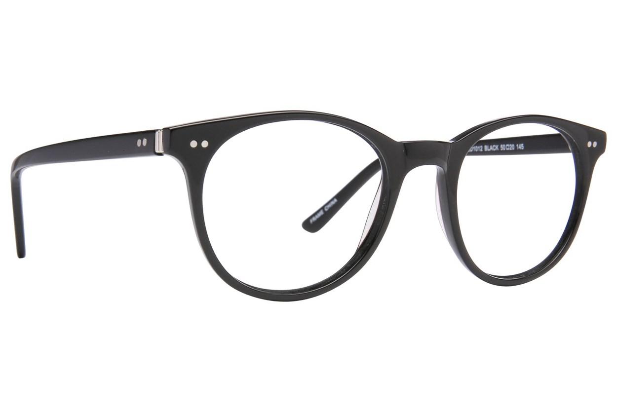 Lite Design LD1012 Black Glasses
